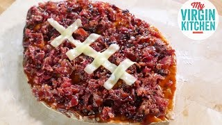 Superbowl Bbq Candied Bacon Pizza Recipe