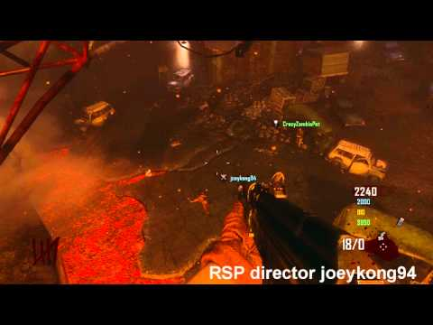 NEW! Black Ops 2 Zombies Huge Barrier On Transit