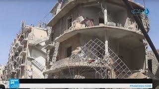 غارات جوية على حلب وعلى تلبيسة شمال حمص