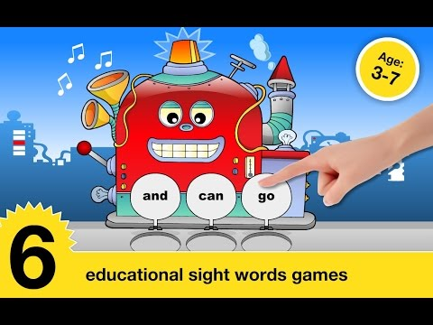 "Sight Words Games Flash card ""CFC s.r.o. Education  Games"" Android Mental Developer Games"