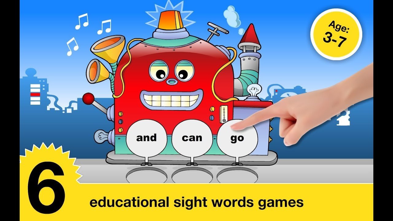 Sight Words Games Flash Card Cfc S R O Education Games