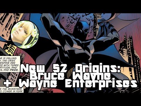 New 52 Origins: Bruce Wayne - Batman