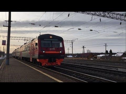 Путешествие на электричках Питер - Казань (9 пересадок)
