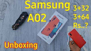 Samsung Galaxy A02 Unboxing & Quick Review