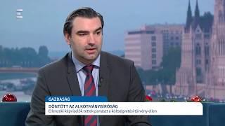 Nem ütközik nemzetközi szerződésbe a szolidaritási hozzájárulás - Ifj. Lomnici Zoltán - ECHO TV