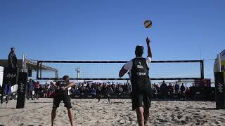 2018 p1440 Huntington Beach Mens Top Guns Finals Samoilovs & Patterson vs Santos & Ta Crabb