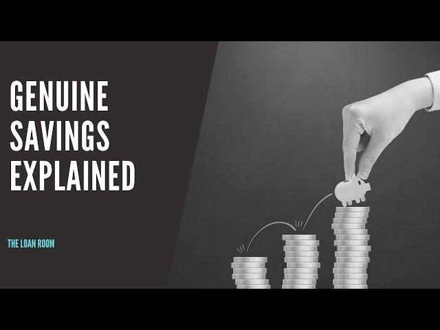 Genuine Savings Explained