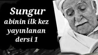 Sungur abi- Ders 1- (Kütahya-1999)