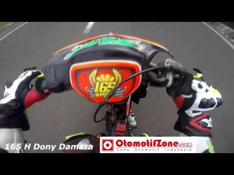 H  Dony Damara Helmet Cam 165 MP4 - Road Race Brigif Cimahi