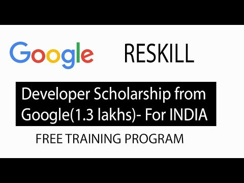 Google scholarships for 1.3 lakh Indian to upskill | Google free program | Tech House