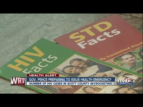 Public health emergency over HIV in Indiana
