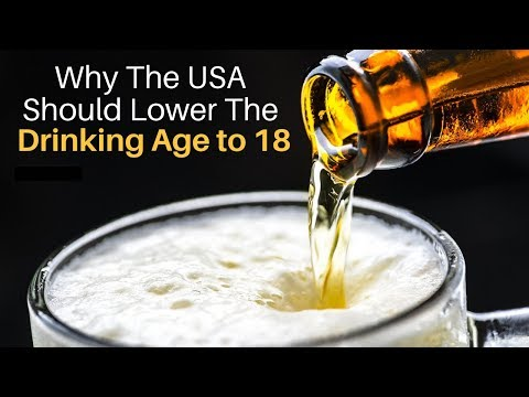 lowering the drinking age to 18 may In colleges, we haven't made as much progress, but lowering the drinking age is not the answer back in the 1970s, a number of states lowered the drinking age from 21 to 18, and we saw an increase in alcohol consumption by youth.