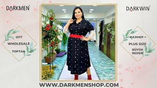 Женская одежда больших размеров Стиль БОХО DARKWIN от DARKMEN Турция Стамбул Лалели Оптом