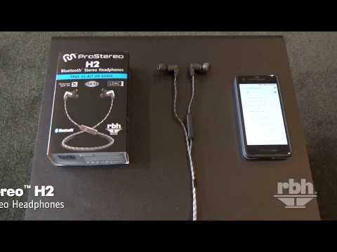 Introducing the ProStereo H2 (RBH version) Bluetooth Stereo Headphones! LDAC & aptX HD