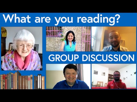 What are you reading? A group discussion about books.