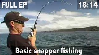 OLD SCHOOL SNAPPER FISHING