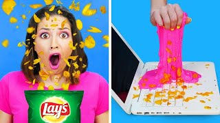 DIY HOME HACKS AND TRICKS WITH YOUR MOM AND DAD || Funny Pranks by RATATA