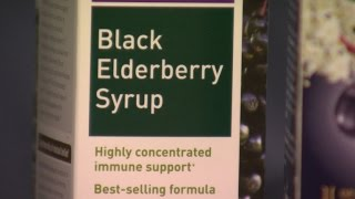 Parents using elderberries to treat colds and flu