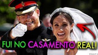 VLOG: Fui no Casamento Real do principe Harry com Meghan Markle | #HottelMazzafera