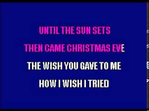 Christmas Won't Be The Same - Karaoke Pops Fernandez