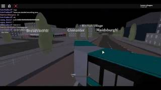 Roblox UK Bus Simulator Driving Mercedes-Benz Citaro O530G Articulated Accident near Maidsburgh