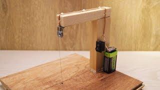 Как сделать резак для пенопласта со столом