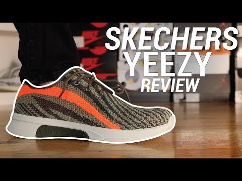 SKECHERS YEEZY REVIEW YouTube