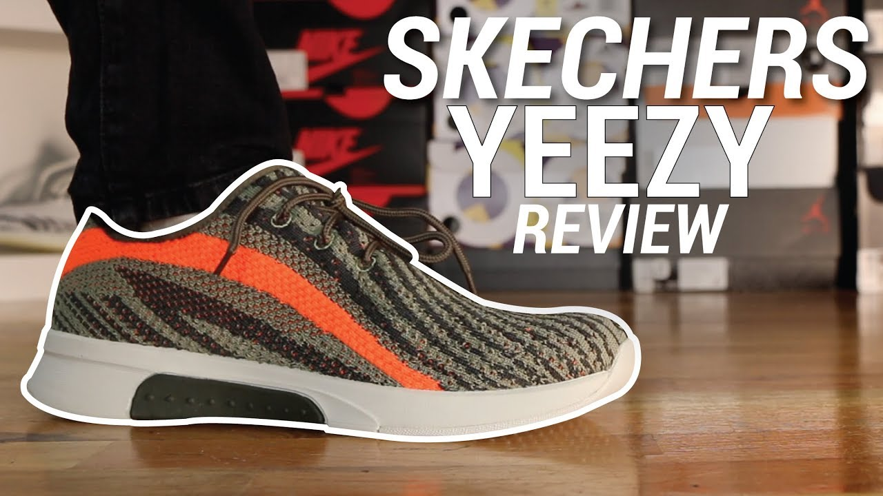 SKECHERS YEEZY REVIEW - YouTube