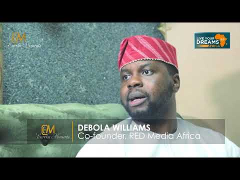 Eureka Moments Meets with Adebola Williams