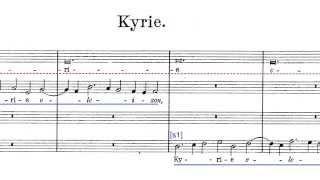 "Josquin - Missa ""Hercules Dux Ferrariae"" (Kyrie)"