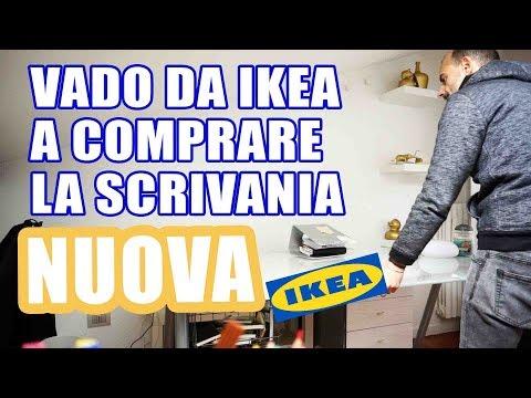 #VLOG VADO DA IKEA A COMPRARE LA SCRIVANIA NUOVA!