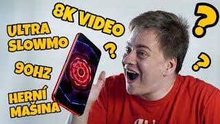 První Mobil na světě co nahrává 8k video
