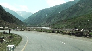 Driving from Naran to Babusar Pass - 13,691 feet elevation