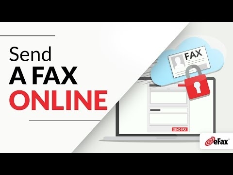How To Send a Fax Online using My Account by eFax