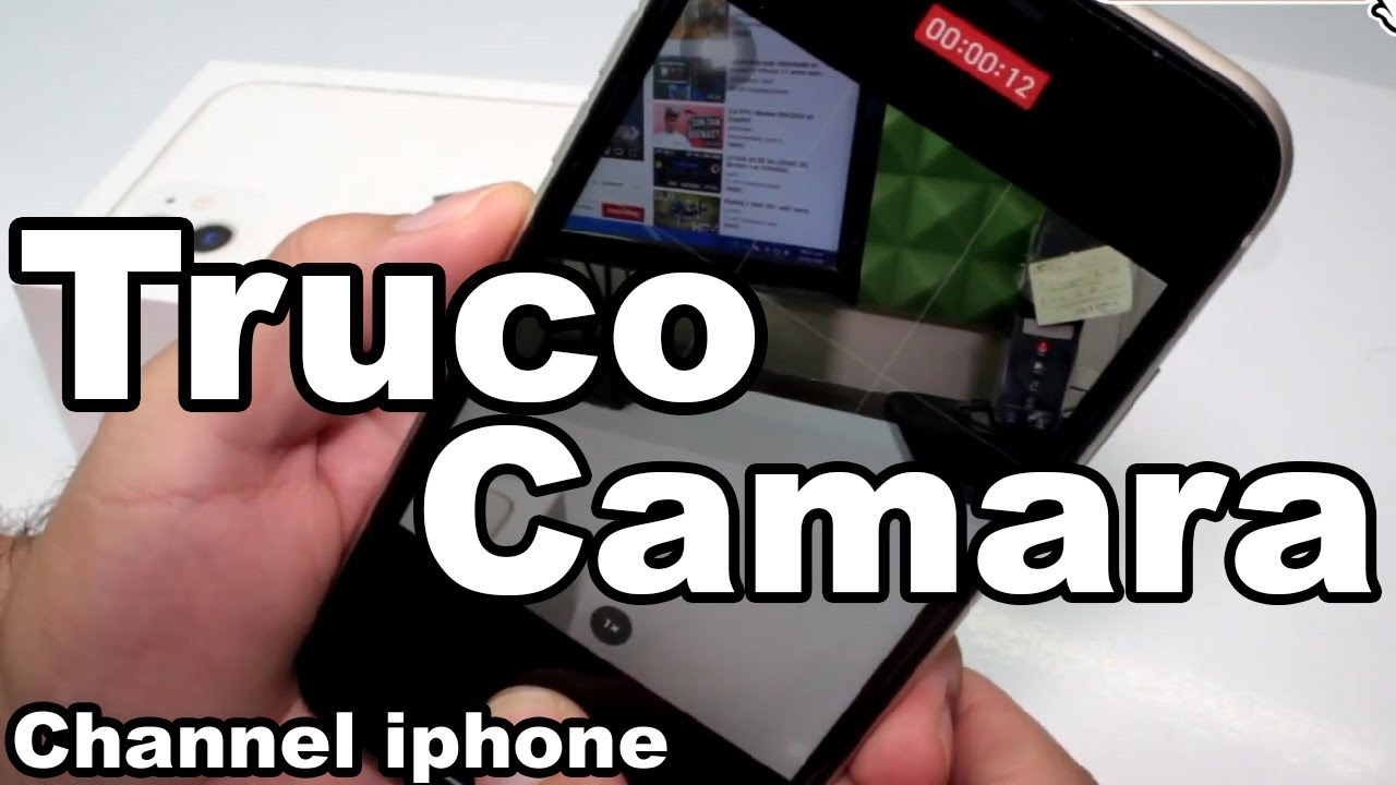 TRUCO camara IPHONE 11 Como Hacer un VIDEO RÁPIDO y no perder el momento en iPhone 11