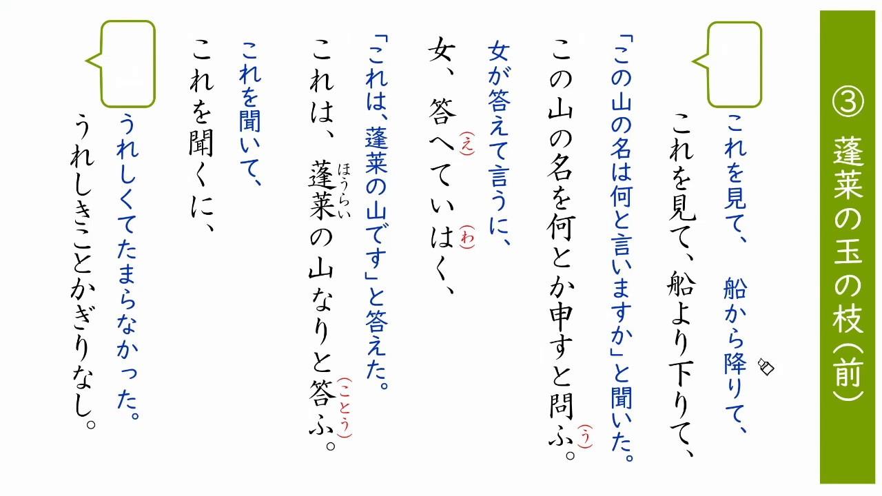 物語 竹 解説 取