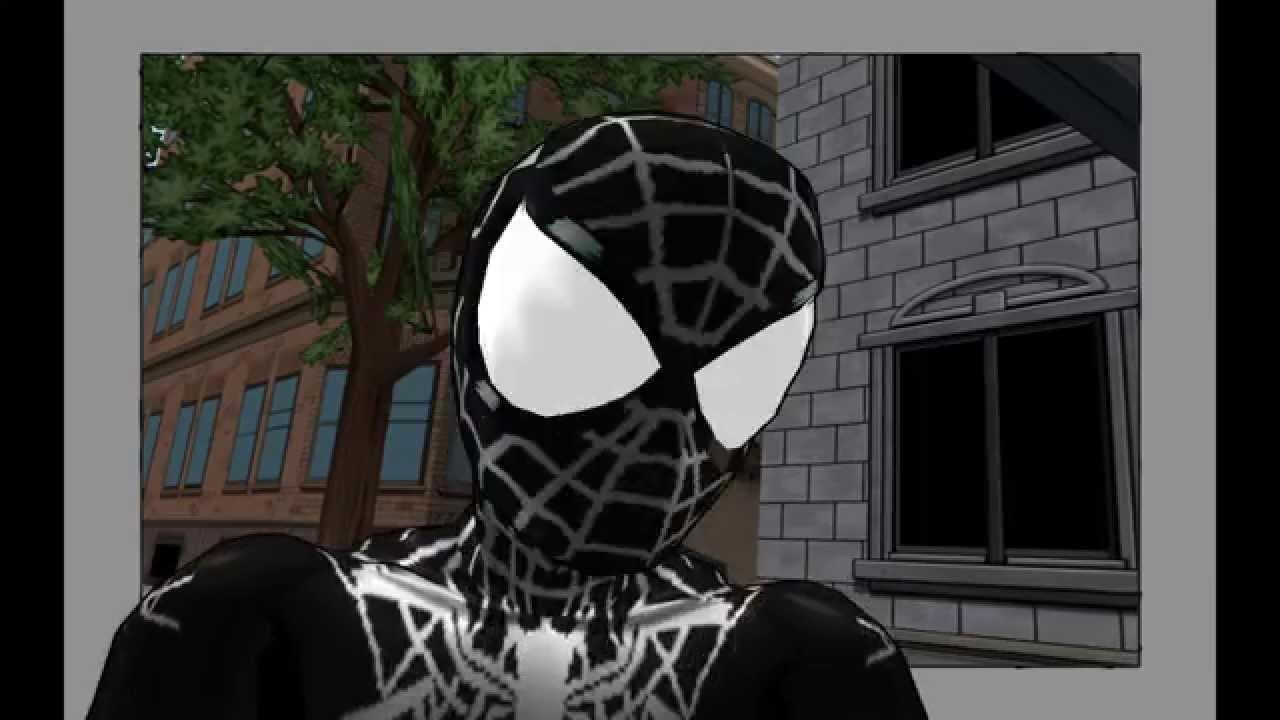 Ultimate Spiderman Black Suit Ultimate Spider-Man MO...
