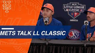 Mets talk about their Little League memories