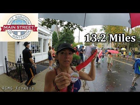 Main Street Half Marathon of Hunterdon NJ - 2017   13.2 Miles