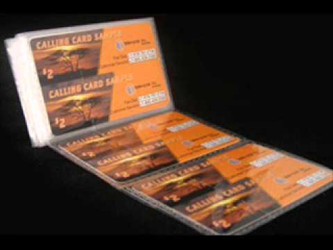 Phone Cards, Scratch Cards Packaging
