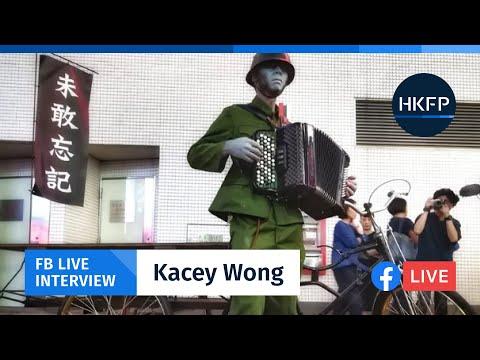 HKFP Live Interview: Hong Kong's top political artist Kacey Wong