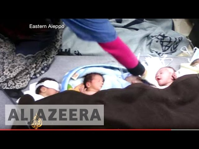 Aleppo onslaught: Hospitals under attack