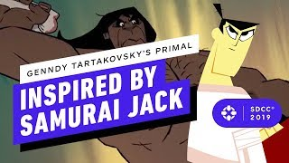 How Samurai Jack and Clone Wars Inspired Genndy Tartakovsky's New Show Primal - Comic Con 2019