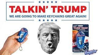 Talkin' Trump Keychain - Funny Donald Trump Sound Machine Gag Gift Toy