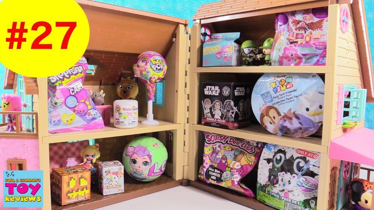 Blind Bag Dollhouse 27 Unboxing Hatchimals Pikmi Pops Lol