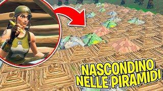 Fortnite ITA - NASCONDINO NELLE PIRAMIDI!!