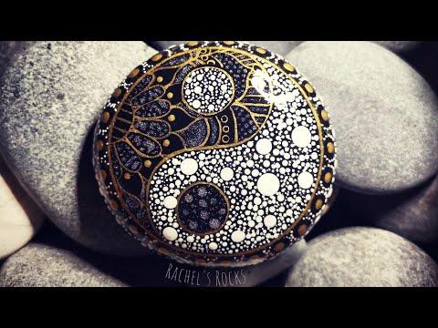 Yin and Yang stone