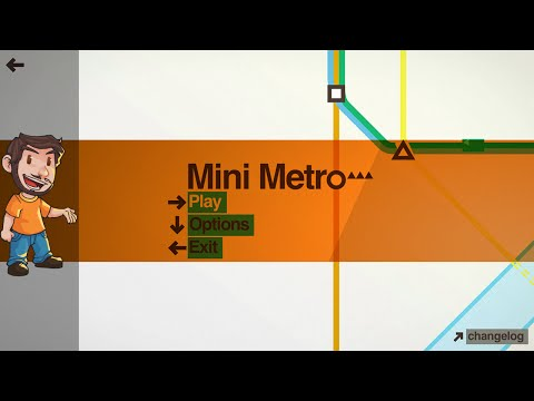 Flabaliki Plays: Mini Metro
