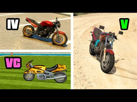 PCJ 600 In GTA Games Over The YEARS (Evolution)