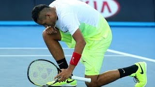 Nick Kyrgios vs Ivo Karlovic Highlights HD Australian Open 2015